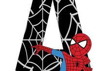 spiderman letters