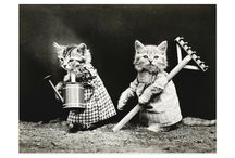 Retro Pet Greeting Cards, Invitations, Postage, and Postcards / Stationery featuring retro and vintage images of pets and cute animals.  Kittens, puppies, cats, dogs, bunny rabbits, and more!  Super cute animals make your mail fun!