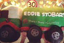 Eddie Stobart birthday cake!  / Cake!!!!!