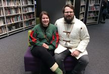 Formby Library Viking Day