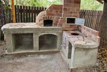 barbecue esterno