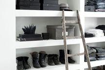 Wardrobe organizer ideas