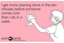 Cleaning / by Dianne Vanarsdol