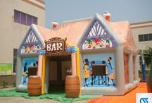 Buy Inflatable Pubs and Tents from China / All kinds of inflatables including slides, bouncy castles, obstacle courses, pubs etc