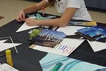 Grade 8 art projects