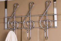 Wrought iron wall hanger