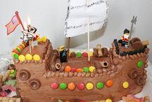 Nautical themed cake / Ship / Boat / Pirat party