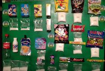 sugar display board