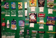 sugar display board