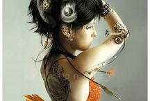 Asian-Inspired Steampunk / by Janet Tait