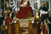 """Las mujeres y el poder / En """"Las mujeres y el poder"""" mostramos retratos de las mujeres de las Casa Reales que fueron protagonistas políticas en el gobierno de los reinos y en la política internacional.También se incluyen retratos de mujeres de élites nobiliarias que fueron relevantes en la conquista de derechos"""