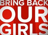 CHANGE! / #BringBackOurGirls and other campaigns! Let's raise awareness!! / by Heil Susan