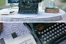 Wedding Themes: Vintage Wedding Ideas / Vintage wedding decor inspiration & unique ideas for your wedding day and featuring some our favourite vintage props: typewriters, suitcases, telephones, vintage cars, and more!