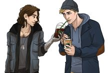 stucky / Steve and Bucky from The Winter Soldier