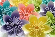 DIY fleur pompons
