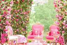 Decor Ideas {WEDDING and SANGEET} / All the pretty inspiration and ideas any Indian bride needs to plan the wedding of her dreams. We're sharing innovative ideas and inspirations for wedding and sangeet decor! Check out more ideas and inspiration on #WittyVows - The ultimate guide for the Indian Bride | www.wittyvows.com