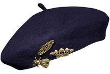 9 Berets ~ Arpitharai / These hat look so pretty with embroidery, ears, or wear it just plain. Try these with your outfit for a swing