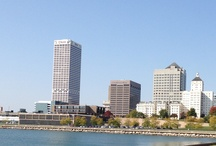Milwaukee, Wisconsin / Skyline of downtown Milwaukee along the lakefront.