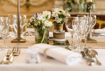Wedding centerpieces ideas / mariage - centre de table - menu - rustique