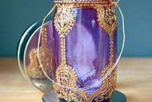 Mehndi Inspired DIY / Mehndi Inpired DIY projects. Bust out the glitter and glue!