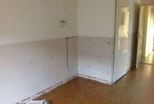 Verbouwing - renovation / After 30 years have started thorough renovation of the ground floor.