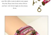 Bijoux / Bracelets colliers bagues