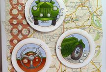LOTV - Trio Stamps / These wonderful trios are a great stamping must-have from LOTV. They include 3 lovely circular stamps measuring approx 42mm in diameter and work beautifully together on one card, or you can make small tags, gift cards, notelets & mini cards too. They also include some fantastic sentiments which are really useful as well, making them amazing value.