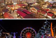 Christmas & Festive Travel / Looking for where to go for Christmas?  Inspiration for where to travel in the holiday season, over Christmas and the festive time of year