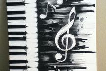 Kunst Med Smeltede Fargestifter