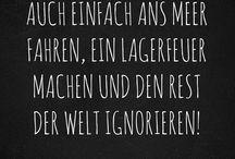 Mein Quatsch  / Sprüche/Zitate/Humor