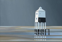 Lighthouses / http://www.redraggallery.co.uk/