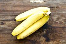 Gesichtsreinigung Bananenschalen