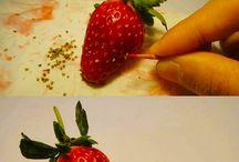 Como sacar las semillas del strawberry