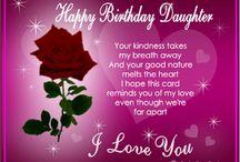 To Nikki  ..Happy Birthday Love Mom