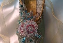 Pointe shoes designs