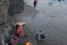 Beach camp / Wake up in the sand