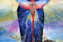 Goddesses / There is a female energy in The Divine.  There is always balance, the Yin and Yang, in spirit.