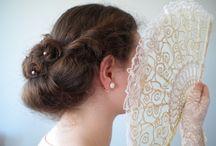 Vintage Hair Styles / Lovely Coiffed Hair