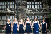 Barn Wedding / #barn #wedding #photography #bridesmaids #brides #dress