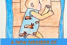 A New Member Of The Family. ESL Children's Story / by Monica Stocker