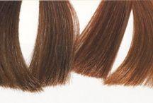 осень цвет волос
