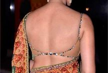 backless blouses