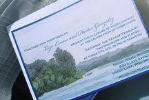 Inspiration: Watercolor Painting Invitations