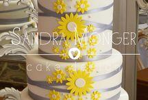 Spring Wedding Cakes / Cakes with a Springtime feel.