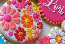 galletas de flores