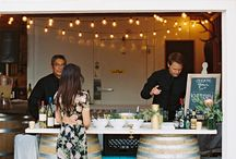 Drinks + Food Stations / What better way to entertain your guests than with gorgeously styled drink and food stations?