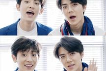 chanyeol and sehun