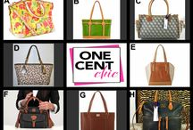 Super Chic Tuesday / Designer Bags from Dooney & Bourke, Calvin Klein and Coach Tonight Tuesday June 3 @OneCentChic 10 PM ET