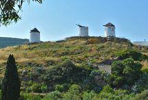 Tripodes (Vivlos) / Tripodes (Vivlos) village of Naxos island, Greece