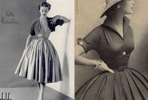 womanlike Schnitte 50er Jahre / Weibliche Mode rund um die 50er Jahre. Elegant, aufregend und besonders.